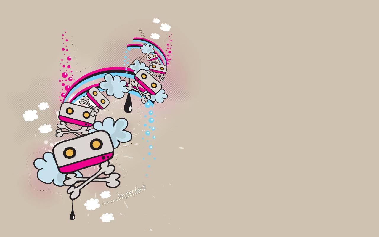 可爱潮流设计壁纸-设计欣赏-素材中国-online.sccnn