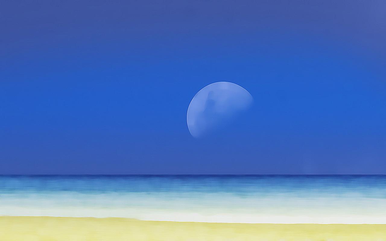 蓝色风光-桌面壁纸-素材中国-online.sccnn.com