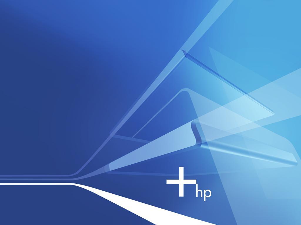 惠普(hp)蓝色主题壁纸-设计欣赏-素材中国-online