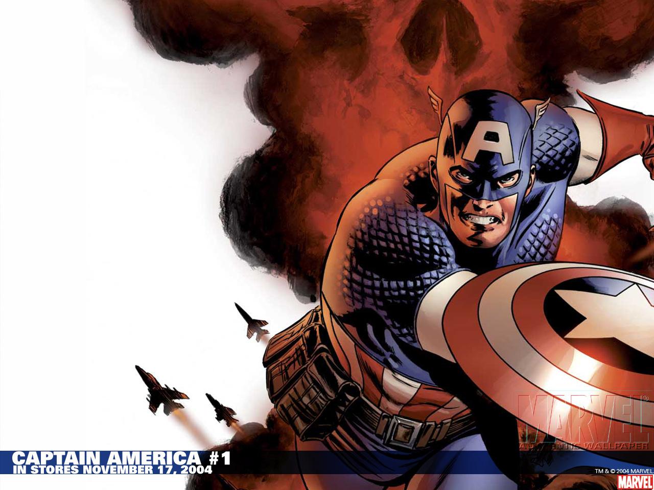 卡通美国队长壁纸