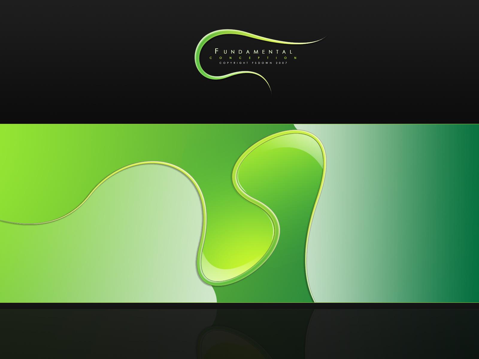 绿色主题壁纸特辑-设计欣赏-素材中国-online.sccnn