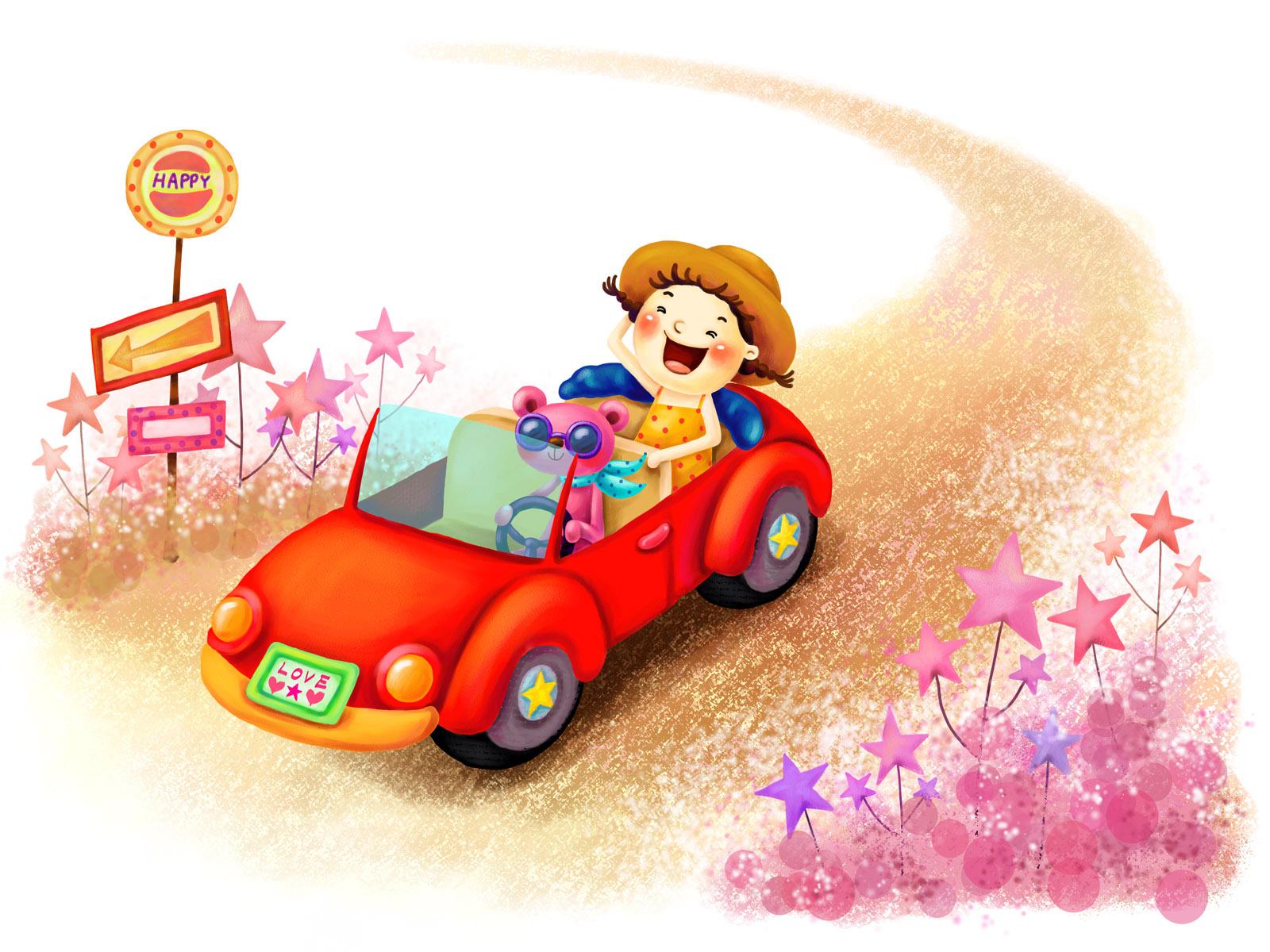 卡通梦幻童年-设计欣赏-素材中国-online.sccnn.com