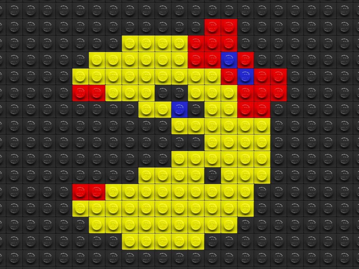 可爱像素风格游戏壁纸-设计欣赏-素材中国-online.