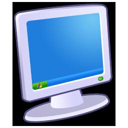 卡通立体电脑图标png图片