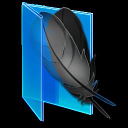 蓝色风格vista文件夹图标 图标 素材中国 Online Sccnn Com