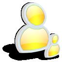 水晶质感图标 [黄