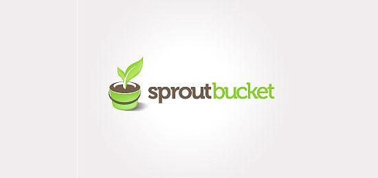 植物主题logo设计-设计欣赏-素材中国-online.sccnn.