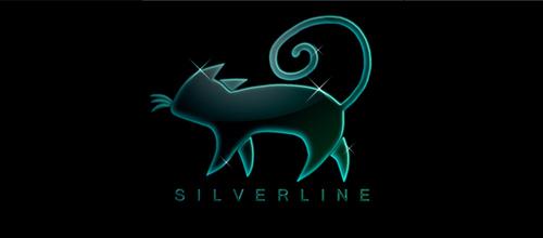 猫元素logo设计