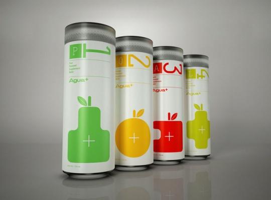 易拉罐饮品包装设计欣赏-设计欣赏-素材中国-online