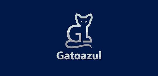 猫科动物标志设计欣赏-设计欣赏-素材中国-online