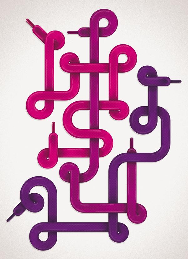 创意字体剪纸步骤图解