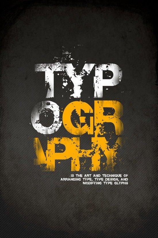 文字海报设计欣赏-设计欣赏-素材中国-online.sccnn