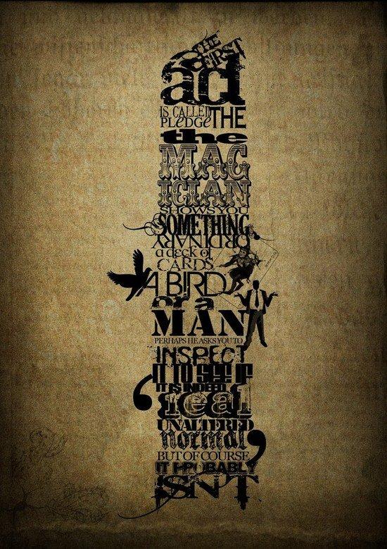 文字海报设计欣赏