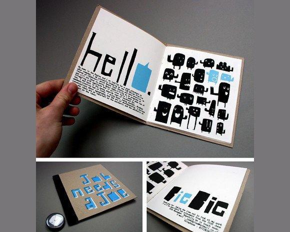 国外时尚创意的小册子设计-设计欣赏-素材中国