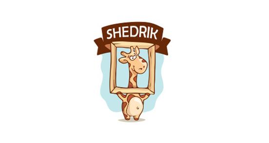 卡通动物主题标志设计-设计欣赏-素材中国-online