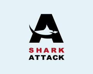 鲨鱼标志-设计欣赏-素材中国-online.sccnn.com