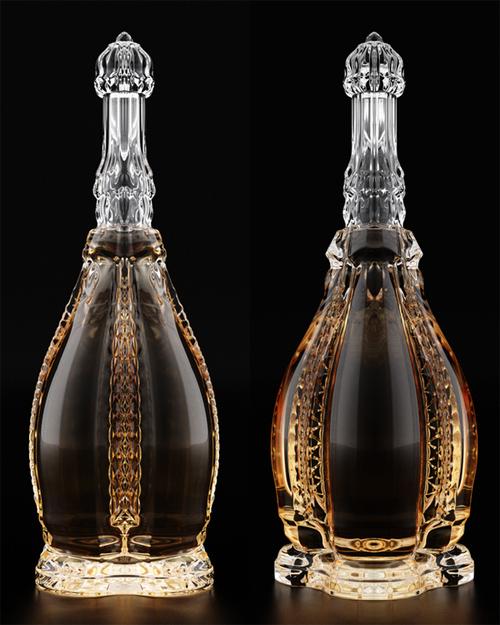艺术感十足的瓶子设计-设计欣赏-素材中国-online.