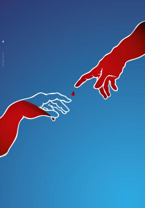 无偿献血主题海报
