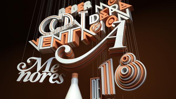 超炫的手工字体设计-设计欣赏-素材中国-online