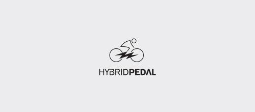 自行车元素的logo设计-设计欣赏-素材中国-online