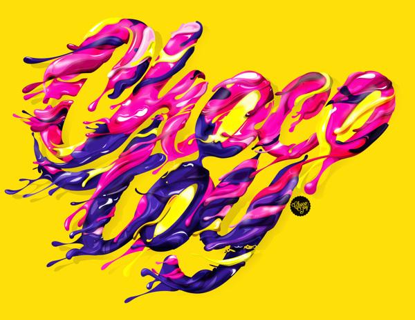 糖果字体设计欣赏-设计欣赏-素材中国-online.sccnn