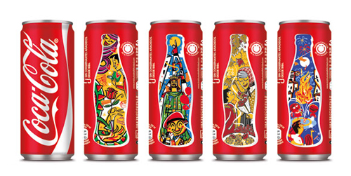 可口可乐创意包装图片