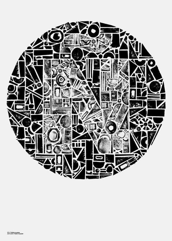圆形海报设计-设计欣赏-素材中国-online.sccnn.com