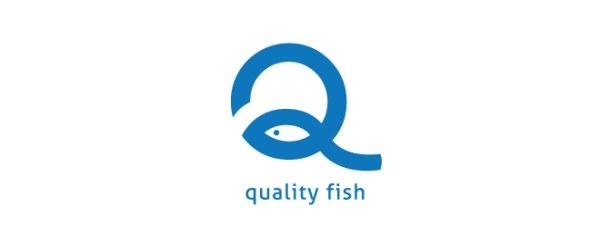 鱼元素创意标志-设计欣赏-素材中国-online.sccnn