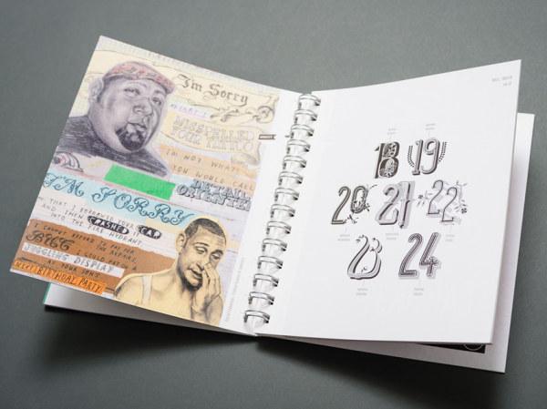 创意日历画册设计-设计欣赏-素材中国-online.sccnn图片