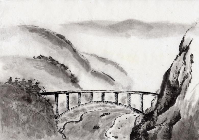 水墨画-设计欣赏-素材中国-online.sccnn.com
