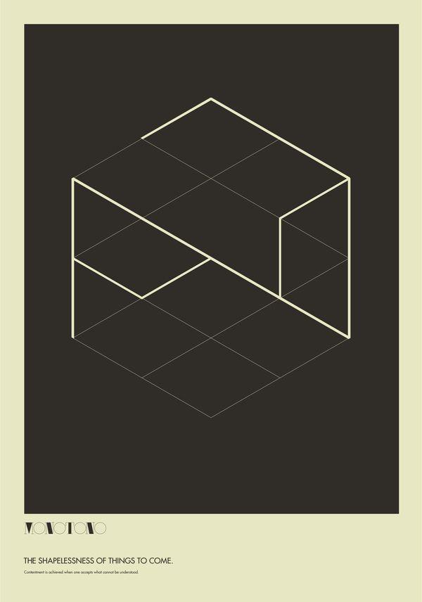 国外几何图形海报设计-设计欣赏-素材中国-online.