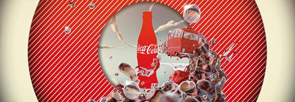 可口可乐广告宣传画