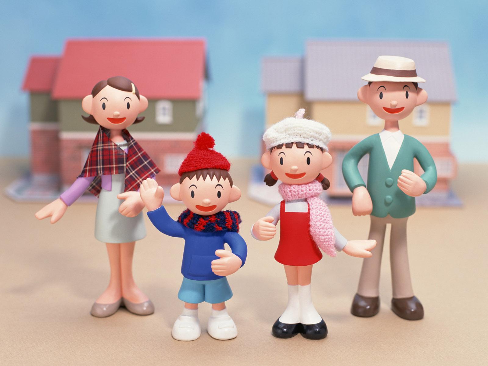 快乐家庭-设计欣赏-素材中国-online.sccnn.com