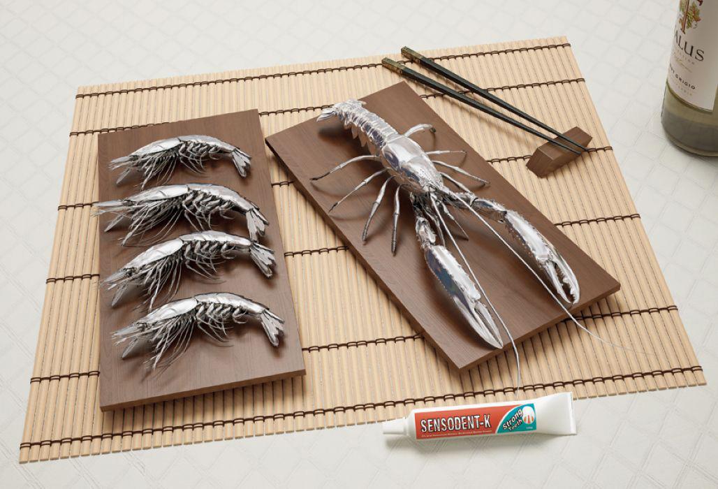 美容产品创意广告欣赏-设计欣赏-素材中国-online