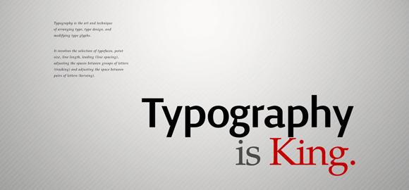 漂亮的字体排版设计图片