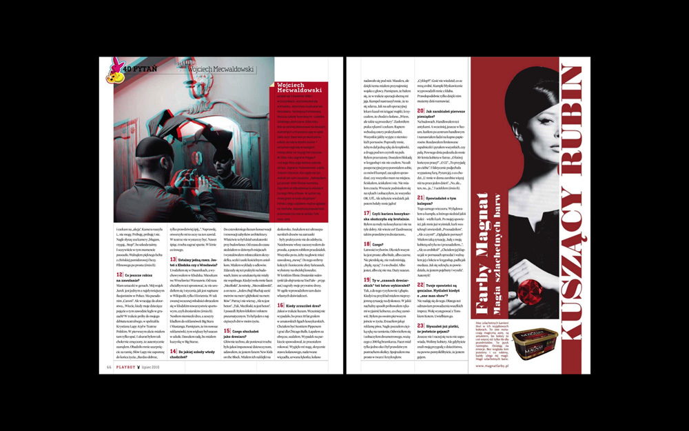 3d版playboy杂志排版欣赏-设计欣赏-素材中国-online