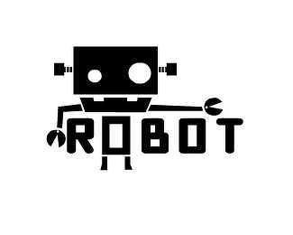 机器人元素logo设计欣赏