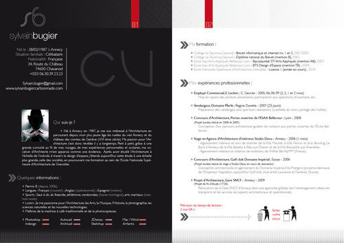 国外创意简历设计-设计欣赏-素材中国-online.sccnn