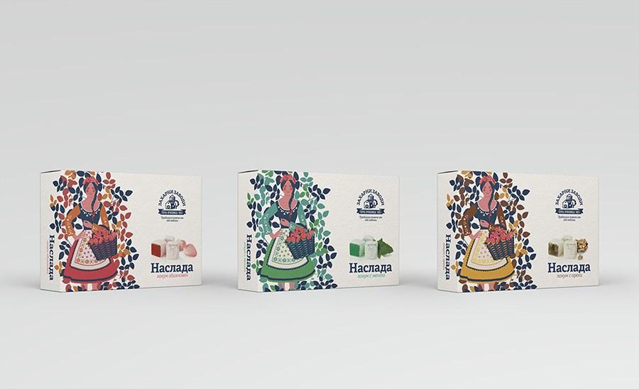 lokum糖果食品包装-设计欣赏-素材中国-online.sccnn.