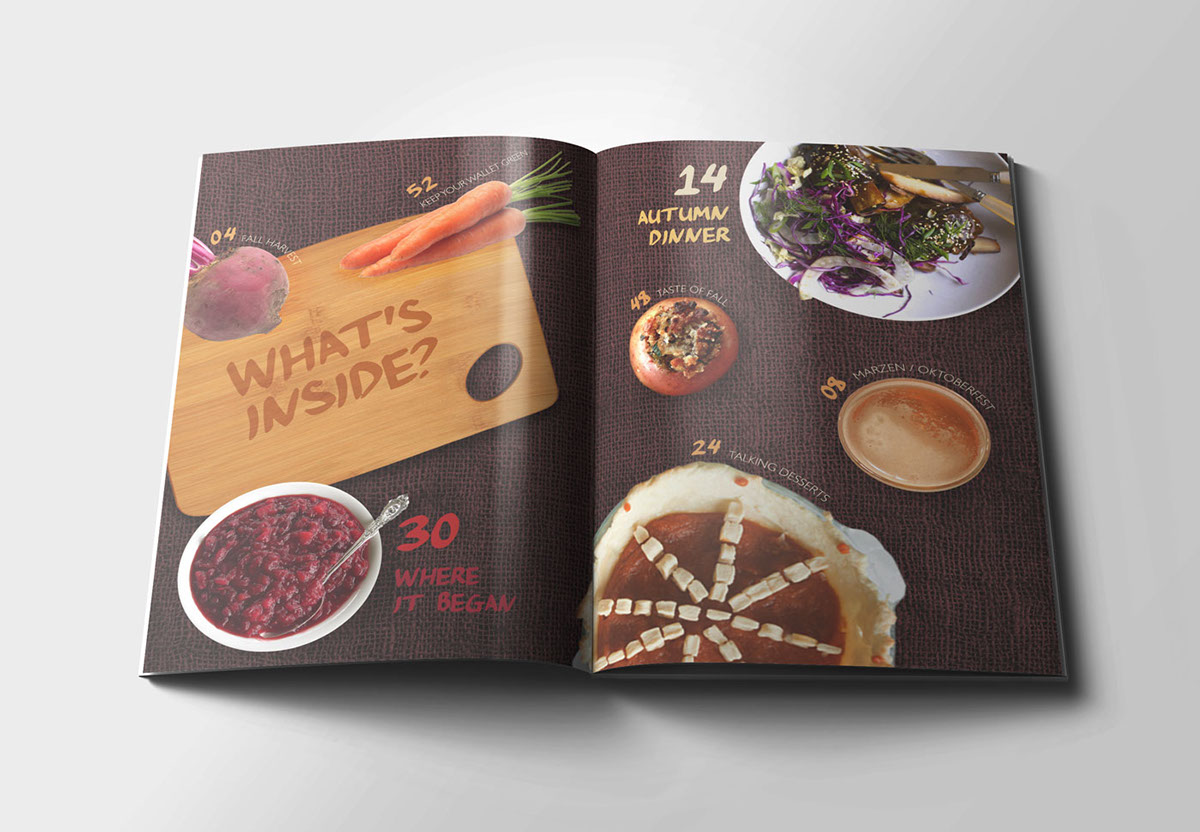 savor美食杂志版式设计-设计欣赏-素材中国-online.