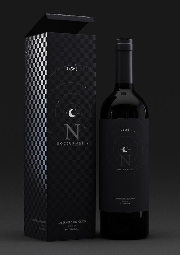 国外红酒品牌相关设计