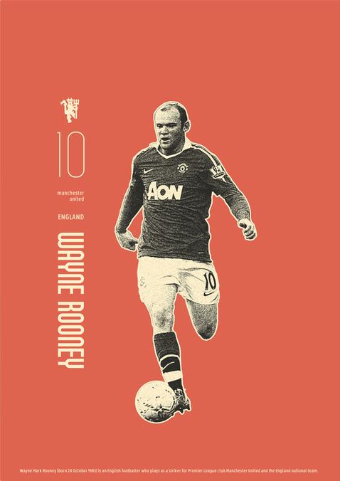 luci怀旧风格足球海报-设计欣赏-素材中国