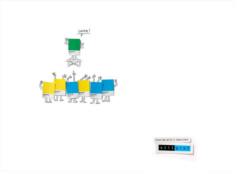 线条手绘创意平面广告-设计欣赏-素材中国-online