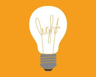 灯泡元素的logo欣赏-设计欣赏-素材中国-online