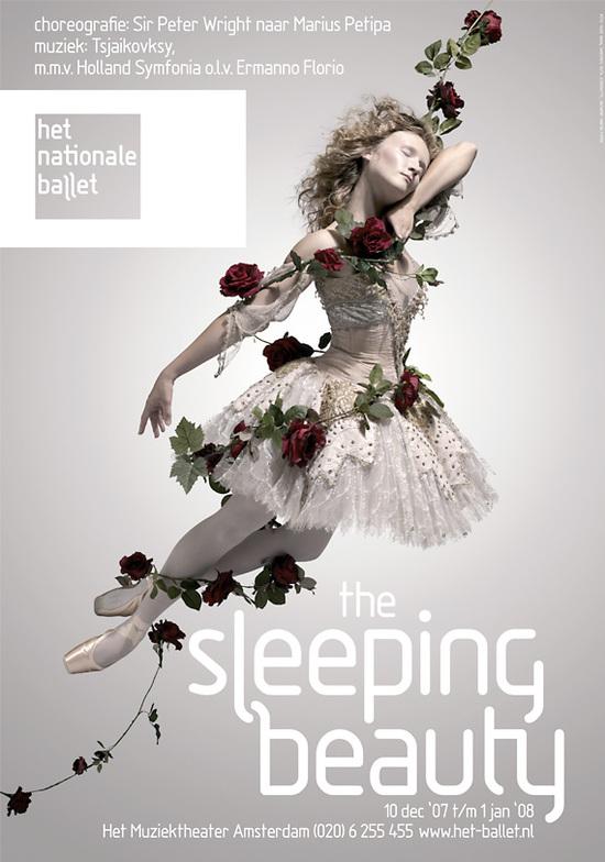 荷兰国家芭蕾舞团海报-设计欣赏-素材中国-online.