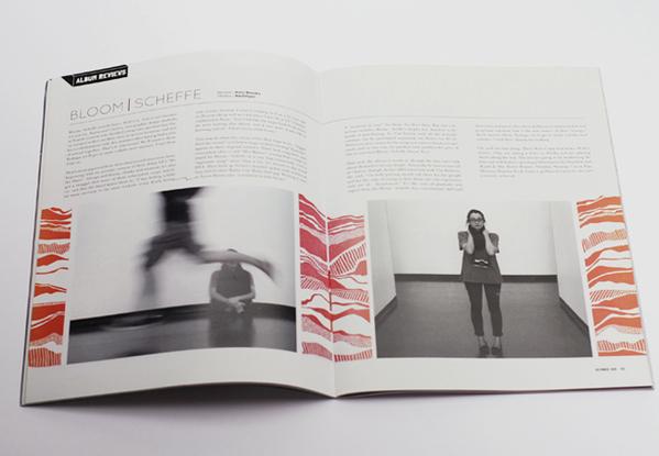 杂志封面和版式设计