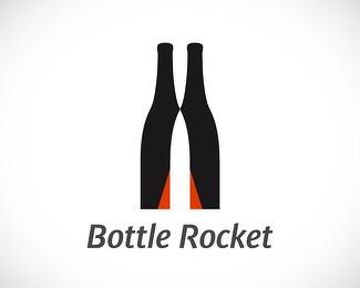 瓶子元素logo设计-设计欣赏-素材中国-online.sccnn.com