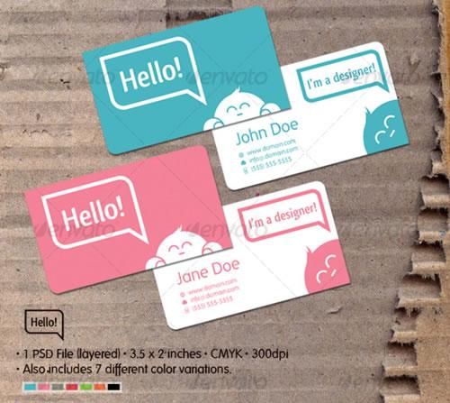 国外名片设计欣赏-设计欣赏-素材中国-online.sccnn