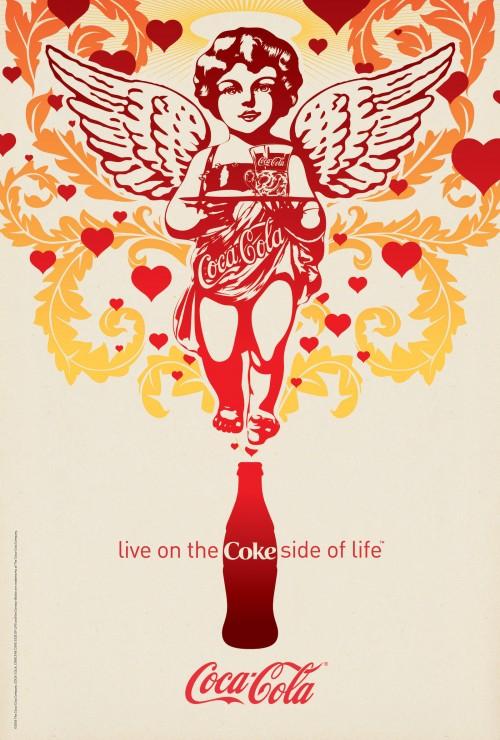 可口可乐平面广告-设计欣赏-素材中国-online.sccnn图片